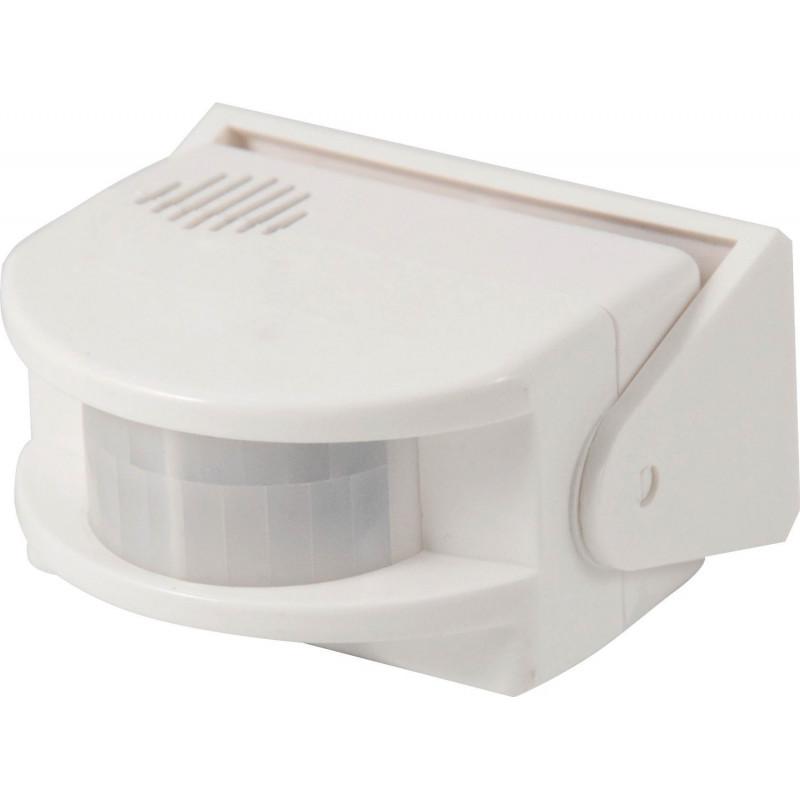 Campanello allarme suoneria da muro a batteria 9V con sensore di movimento PIR