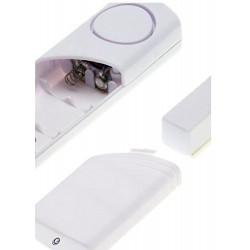 Allarme senza fili per porte e finestre alimentazione a batteria Electraline 58400