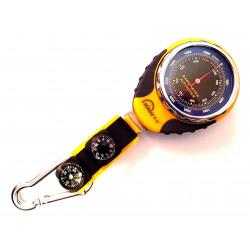 Altimetro e barometro con bussola e termometro sport elevata robustezza