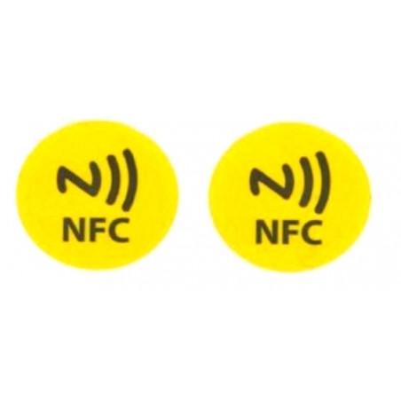 2 TAG NFC scrivibili compatibili con Windows Phone, Android e Blackberry