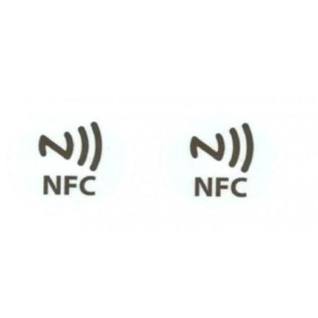 2 NFC TAG inscriptibles compatibles avec Windows Phone, Android et Blackberry