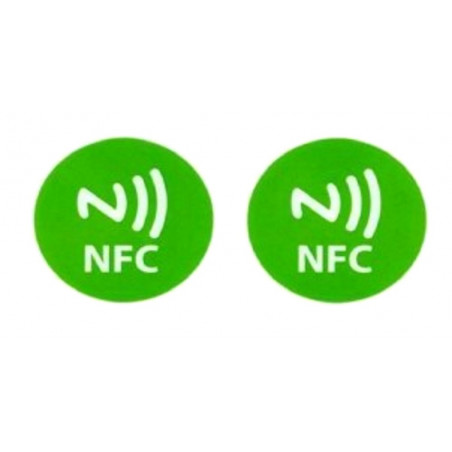 2 writable NFC TAGs compatible with Windows Phone, Android and Blackberry