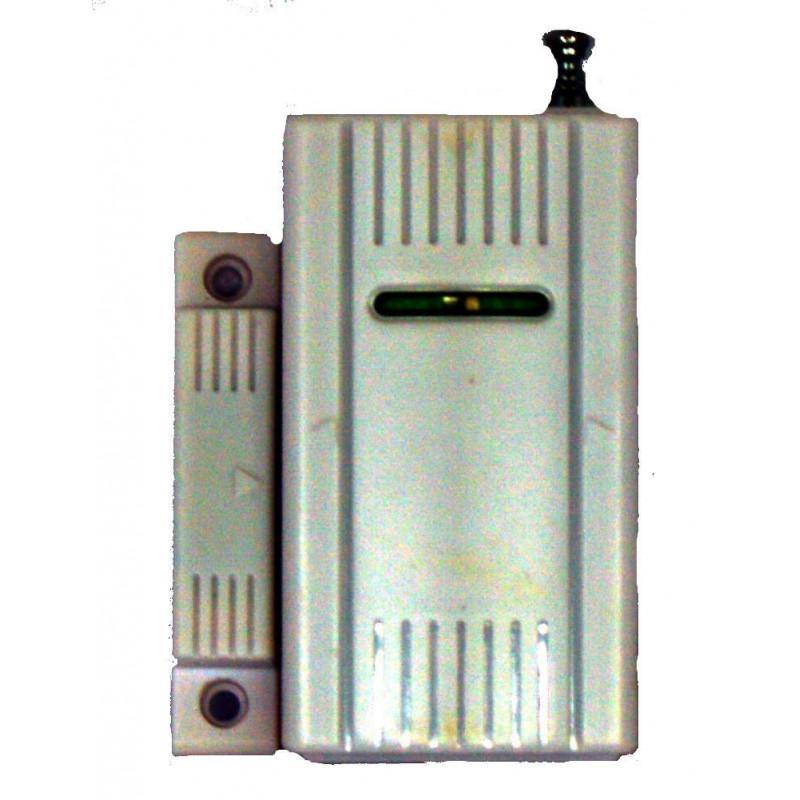 Capteur magnétique sans fil 433.92 avec batterie pour porte ou fenêtre pour alarme 2800-LED