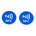 2 TAG NFC scrivibili compatibili con Windows Phone, Android e Blackberry