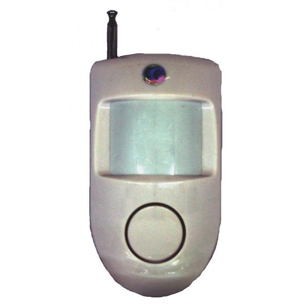 Sensore pir volumetrico wireless batteria - Allarme volumetrico esterno ...