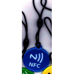 Writable NFC TAG for Windows Phone, Android, Blackberry keychain format