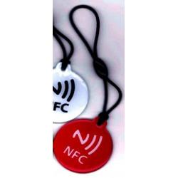 ÉTIQUETTE NFC inscriptible pour Windows Phone, Android, format de porte-clés Blackberry
