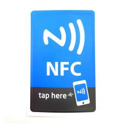 TAG NFC scrivibile per Windows Phone, Android, Blackberry magnetico formato MAXI