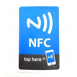 TAG NFC scrivibile per Windows Phone, Android, Blackberry magnetico formato MAXI