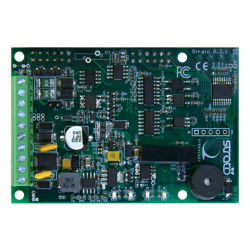 Strato PI UPS Shield Raspberry PI 2,3 RTC, RS232/485, PSU 9-28VDC, watchdog, UPS