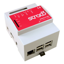 STRATO PI SERVER- EMBEDDED COMPUTER UPS basato su RASPBERRY PI 3