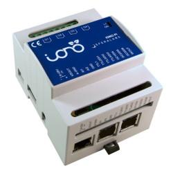 DIN Box Case für Raspberry PI 2 und 3 Mod. B für IONO PI Shield