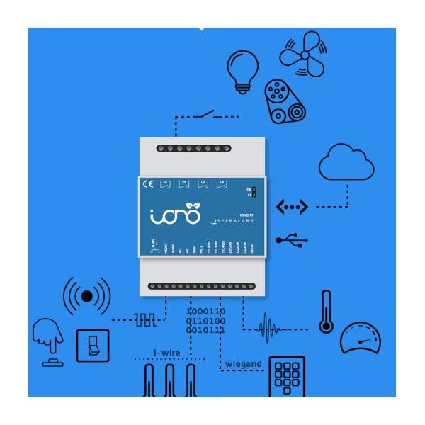 IONO PI Server basato su Raspberry PI 4 relè 2 in analogici 7 IO