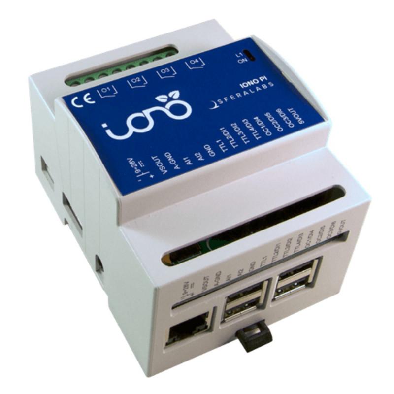 IONO PI Server basato su Raspberry PI 4 relè 2 in analogici 7 IO digitali