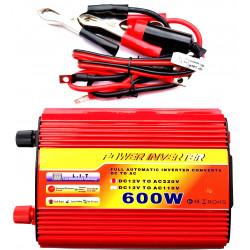 INVERTER AUTO BARCA CAMPER USCITA SINUSOIDALE MODIFICATA 600W 12V–220VAC+USB