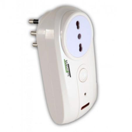 Smart Socket (presa intelligente) per monitor conta energia ECODHOME MCEE USB