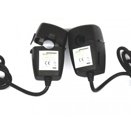 ECODHOME MCEE TX Solar and USB 10 mm additional double clamp three-phase kit