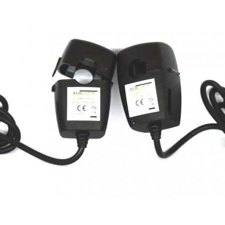 ECODHOME MCEE TX Solar und USB 10 mm zusätzliches Doppelklemmen-Dreiphasen-Kit