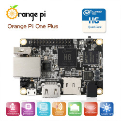 Orange Pi One Plus H6 A53 Quad-core 1GB RAM Gigabit Linux Android Embedded PC