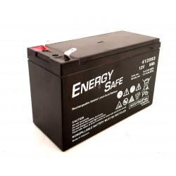 Batteria al piombo ricaricabile ermetica AGM VLRA 12V 9Ah uso ciclico e standby