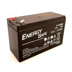 Batteria al piombo ricaricabile ermetica AGM VLRA 12V 7Ah uso ciclico e standby