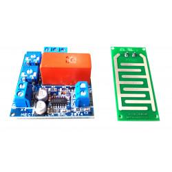 Sensor de agua de lluvia anti-inundaciones multiusos 12V DC relé 16A 230V placa