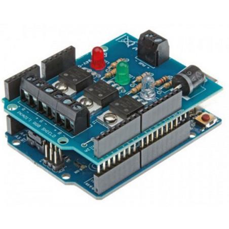 Shield RGB PWM Arduino controllo LED MAX 50V 6A ideale per strisce, faretti, luci