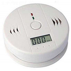 Kohlenmonoxid-Detektor für Wand- oder Deckenbatterien mit Display