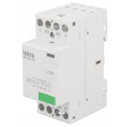 Contattore ISKRA IKA 25-22/230V 4-poli 230VAC 25A NC x2 + NO x2