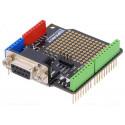 DB9 RS232 MAX3232 Shield con scheda millefori incorporata per Arduino