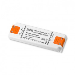 Alimentatore switching Led 12V DC 20W per strisce barre luci Led (0.5W-20W) incapsulato