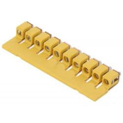 Accessorio ponte a vite 10 poli per morsettiere DIN componibili WDU 4mm2
