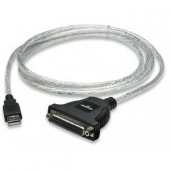 Convertisseur USB parallèle femelle DB-25 compatible Windows