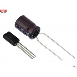 Lampeggiatore multifunzione FLASH alternato miniaturizzato LED e LUCI 1A 7 – 24V