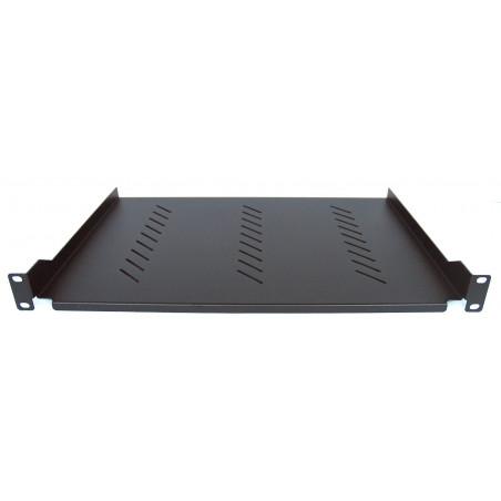 Rack 19 '' Cabinet Shelf 310 mm Black