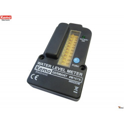 Battery level indicator for water tanks with remote control up to 100m