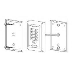 Serratura elettronica RFID + Tastiera metallo anti vandalo esterno interno 2000 utenti