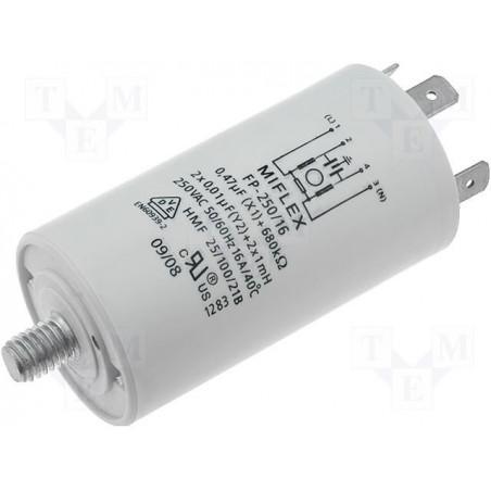Filtro di rete antidisturbo EMI per elettrodomestici 250V 16A