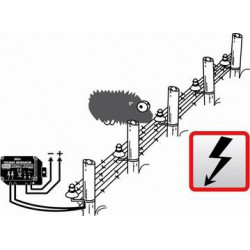 Generatore alta tensione impulsivo recinzioni deterrente animali piccola taglia