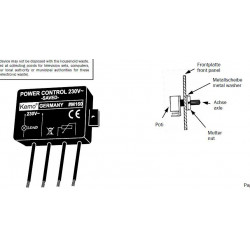 Power control 230V AC 1,3A 300W soft start transformers, lights, heaters