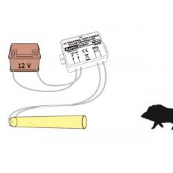 Transductores de alta potencia 4 repelentes ultrasónicos para animales pequeños