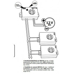 Transductor ultrasónico adicional para repelente de interferencias ultrasónicas M071N