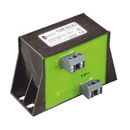 Trasformatore incapsulato con morsetti 230V 24V 120VA TMBZ 120/002M