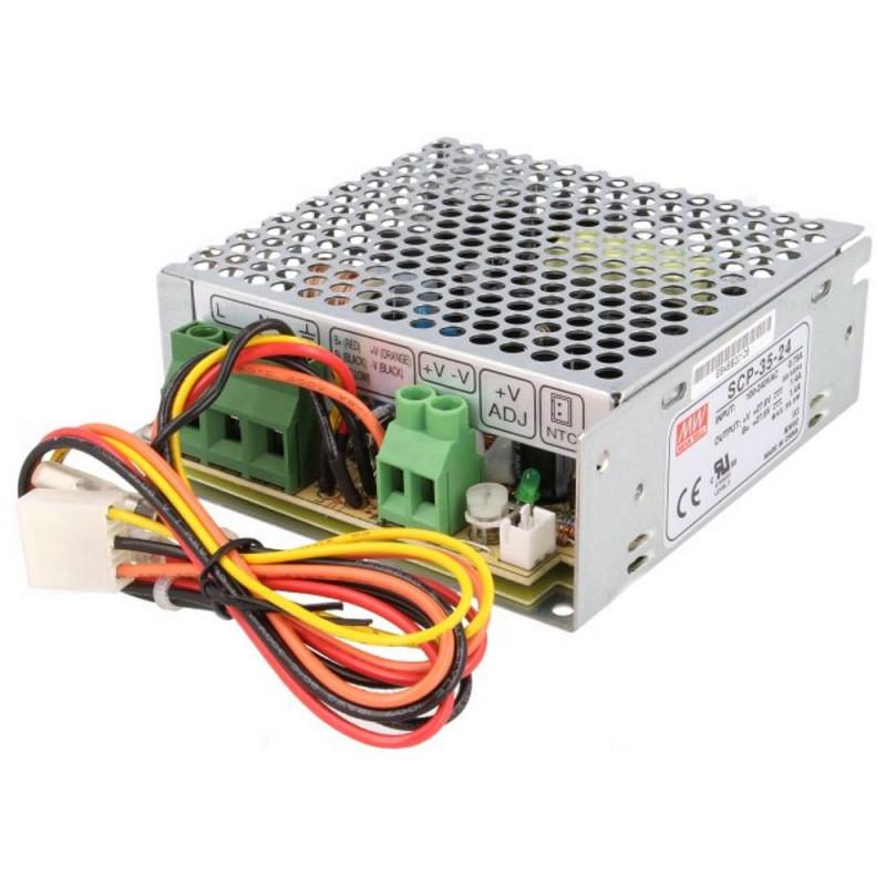 Alimentatore switching 27,6V 2,7A SCP-75-24 UPS batteria BACKUP