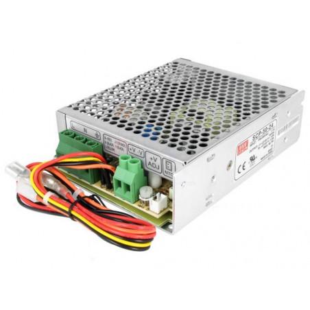 Schaltnetzteil 27,6 V 2,2 A SCP-50-24 USV-Batterie SICHERUNG