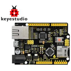 Arduino ethernet compatibile W5500 scheda di sviluppo Atmega 16U2 328P microUSB
