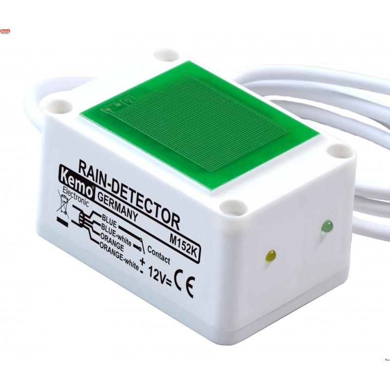 Sensore di pioggia capacitivo 12V DC con uscita relè contatto max 25V 2.5A