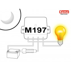Interruttore sensore crepuscolare esterno interno 12-28V uscita 5A in tensione