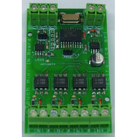 MB Mini IN Device - 4 input su bus RS485 con 32 dispositivi collegabili