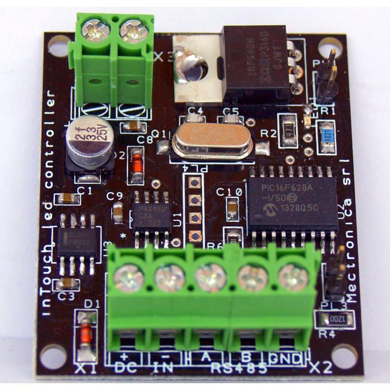 Controlador LED de bus MB: brillo de LED y controlador de potencia PWM en BUS RS485
